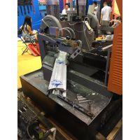 佛山厂家供应不锈钢、铝、门厂专用45度切角机