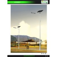 青岛赛荧太阳能LED平板路灯
