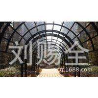 供应住宅小区园林景观工程铁艺步行拱廊