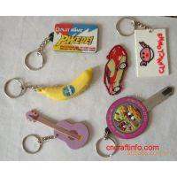 供应pvc吉他钥匙扣 音符钥匙扣吊饰 软胶吊饰
