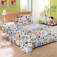 地摊热销 多种尺寸 老粗布床单枕套 纯棉老粗布床单被套 厂家直销