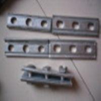 我公司专业生产 单双槽夹板 电力横担 镀锌 抱箍 拉线棒 U型抱箍