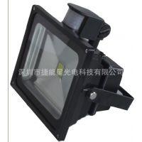 厂家供应红外人体感应投光灯10W-50W  ip65 10W