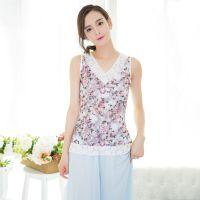 2015春夏新款大码女装韩版修身花版蕾丝打底衫背心吊带T恤女批发