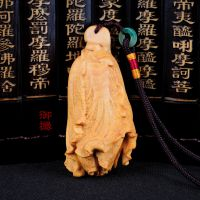 批发供应 黄杨木白菜把件 红木黄杨木雕手把件 木质工艺品 挂件