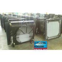 水箱订做 泵车130马力水箱中冷器配件厂家供应