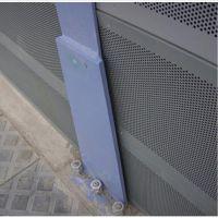 安平世鹏大量供应 铝板声屏障 隔音、吸声材料 出口品质