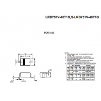 LRC肖特基LRB751V-40T1G