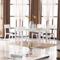 时尚简约现代餐椅酒店椅餐桌椅组合高档橡木实木烤漆皮餐椅Y109