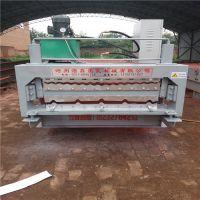 浩鑫压瓦机实力厂家专业制作850型彩钢压瓦机瓦楞机