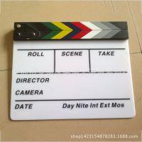 定制电影拍板亚克力拍摄道具场记板打板