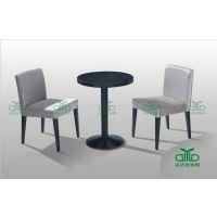 时尚简约现代餐椅 烤漆金属餐厅椅运达来家具厂家批发