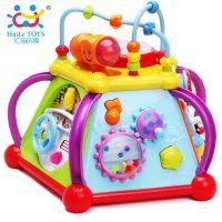 汇乐806快乐小天地 儿童益智早教玩具 多功能早教机1-3岁开心玩耍