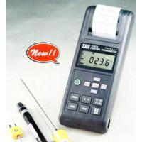 北京TES-1305带打印机温度表哪里有卖,便携式带存储温度表生厂商