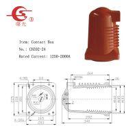 杭州曙光电器生产24kV高压屏蔽触头盒(CHZ02-24)