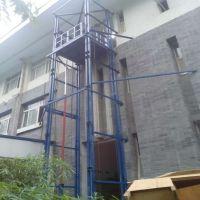 供应导轨升降机 厂房专用升降货梯 链条式升降平台