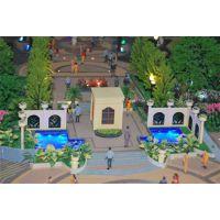 园林规划模型制作工艺|丰都县规划模型|金雕模型
