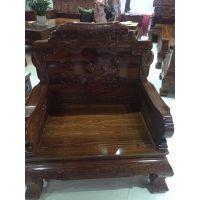 红木家具十大品牌沙发凤凰刺猬紫檀名琢世家