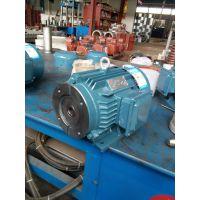 特殊定制双菊出产油泵专用电机VP系列出轴电机