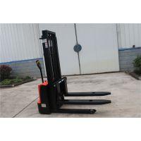 步行式全电动液压堆高叉车升高2.5米、载重1-2吨厂家直销