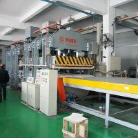 供应铝蜂窝板热压机成套设备-青岛国森