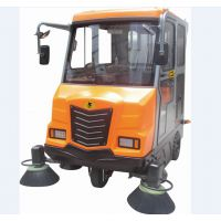 OS-V7全封闭大型驾驶式扫地车 物业环卫清扫车