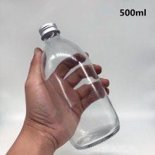 供应徐州宏华葫芦玻璃饮料瓶定做透明270ml玻璃饮料瓶