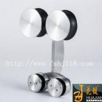 上海经销批发办公室用高质量不锈钢砂光淋浴房滑轮趟门配件