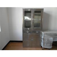 光森不锈钢文件柜 供应304办公柜 工艺剪板折弯焊接而成