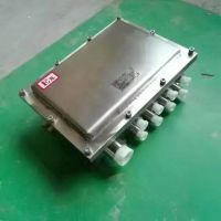 不锈钢材质惟丰防爆增安型隔爆型304不锈钢非标防爆接线箱