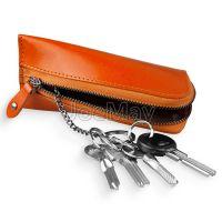 创意款粽子钥匙包 男士真皮新款汽车多功能钥匙包 拉链钥匙包定做