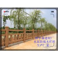 江西河岸护栏 河边仿木护栏 桥栏杆生产厂家
