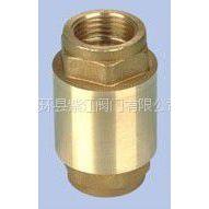 厂家直销供应优质黄铜立式止回阀