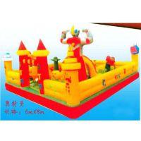 供应大型充气城堡游乐设备 在哪里购买儿童充气玩具城堡 充气玩具生意***挣钱
