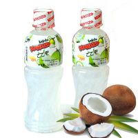 泰国进口饮料 可可爽牌椰子果汁饮品320mlX24瓶/箱 进口果汁批发