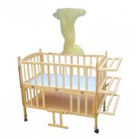 广东江门海贝尔实木家具批发婴儿床