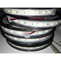 供应5050防水软灯带 LED5050防水软灯条 硅胶套管防水 12V