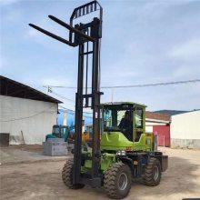 中首重工越野叉车,龙门架举升3米载重3吨无极变速,湖南直销