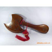 黑龙江批发桃木工艺斧60厘米工艺精致整体材料可混批摆件挂件