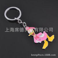可爱唐老鸭钥匙扣 女生迷你动漫迪斯尼钥匙链 创意小礼物批发定做