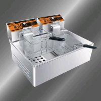 汇利HY-83R型单缸双筛电热炸炉、电炸锅、油炸锅、薯条机、油炸炉