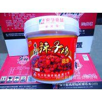 四川特产 厂家批发6KG花生乡村辣子鸡 零食烧烤麻辣可口 劳保食品
