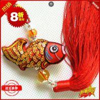 民俗传统礼品中国特色手工刺绣香囊汽车挂件出国外事创意挂件