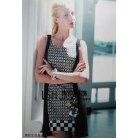 台湾赫帝女装2014春夏新品,品牌女装圣**兰库存走份批发