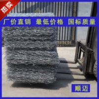 河北镀锌铁丝笼 拧花圈羊网 水利铁丝石笼网 锌铝格宾笼专业厂家