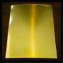 厂家供应H70环保黄铜板 拉丝黄铜H65 高纯黄铜板规格