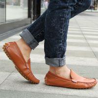 2014新款男士豆豆鞋 时尚休闲男鞋舒适透气单鞋品牌男鞋一件代发