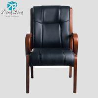 中帮实木餐椅皮制豪华老板实木椅子扶手A-15厂家特价批发零售