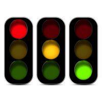 扬州弘旭照明大量优质供应3-10W道路交通信号灯各种LED信号指示灯