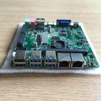 标点工厂直供i5-4300u双网口工控电脑主板 无风扇广告一体机主板